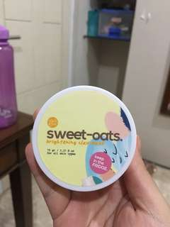 kleiandclay sweet oats brightening