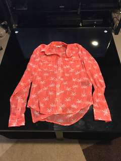 Coral summer long sleeves