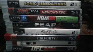 PS 2 & 3 GAMES