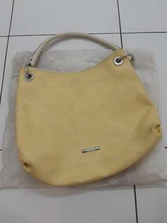 Tous yellow shoulder bag