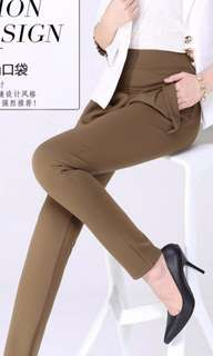 Plus Size Office Pants