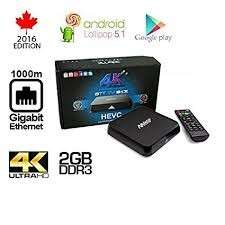 M8S Android TV Box (2gb Ram)