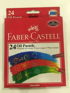 Faber- Castell Oil Pastels (24 colours)