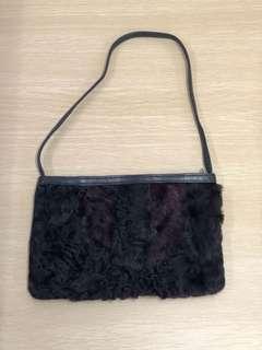 Loewe fur bag