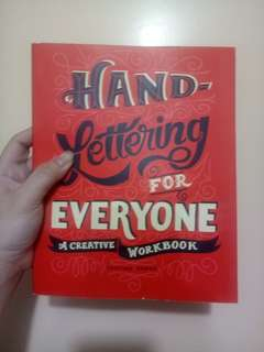 Hand Lettering for Everyone (A Creative Workbook) by Cristina Vanko
