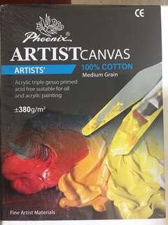 Phoenix Artist Canvas brand new - 30X40inches