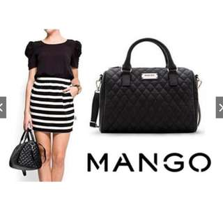 MANGO QUILTED DOCTORS BAG