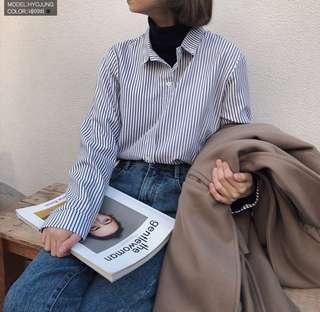 🚚 百搭條紋襯衫
