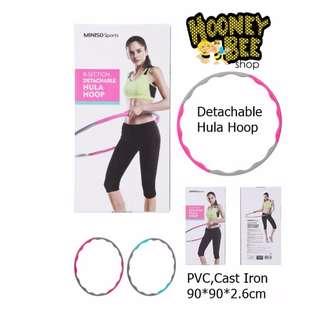 Japan Quality - Alat Olahraga Pria Wanita Detachable Hula Hoop Miniso