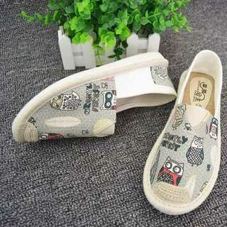Owl design native shoes. Free shipping nationwide