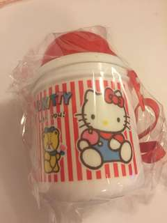 Sanrio vintage Hello Kitty 水壺 1988