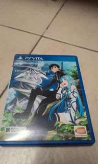 Ps vita game sao lost song