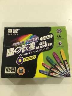 Gel Marker (Refillable)