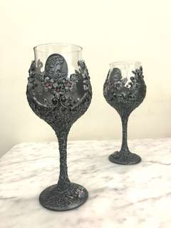 Wine glass props rental
