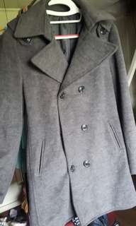 Winter Trench Coat Large
