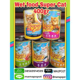 Wetfood Super Cat 400gr