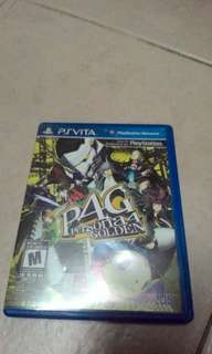 Ps vita game persona 4 golden