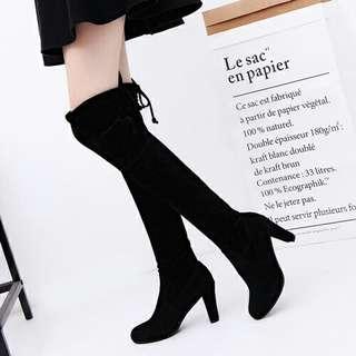 Sepatu Boots Fashion Wanita 8CM-SHB8858