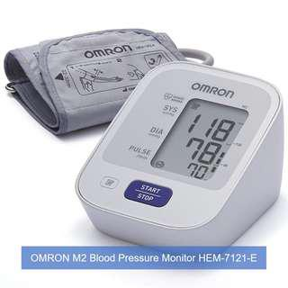 🚚 [Brand New & Authentic] OMRON Healthcare M2 Upper Arm Blood Pressure Monitor and FREE SAME DAY DOORSTEP DELIVERY at S$68!