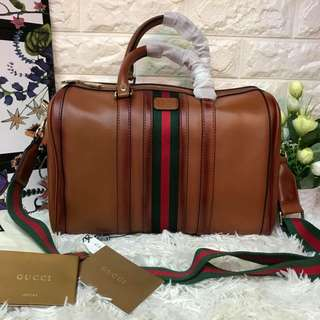 Gucci duffle bag authentic