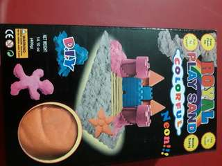 Colorful Play Sand Neon