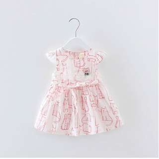 "🚚 ""Kitties!"" Baby Girl Dress"