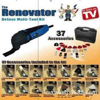 The renovator deluxe multi-tool kit