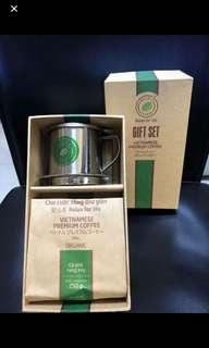 越南咖啡set( 連咖啡杯)