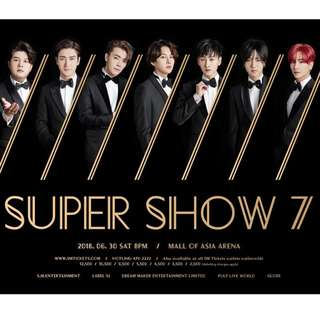 Super Junior Super Show 7 June 30 2018