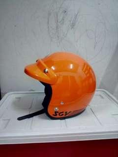 Helmet sgv trendy oren