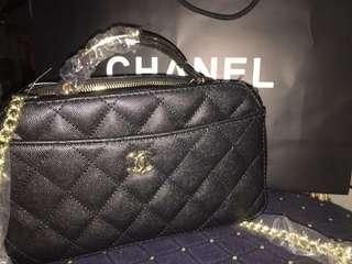 Chanel 2 Zipper Sling
