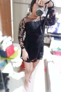 Transparant Lace Dress