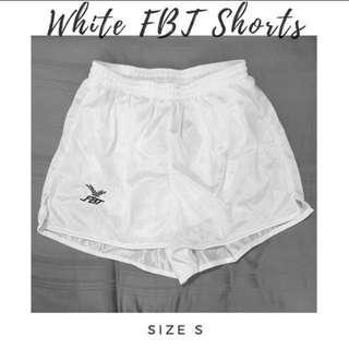 🚚 FBT Shorts WHITE
