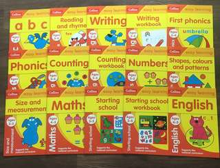 Pre order - Collins Easy Learning age 3-5 (15本練習)