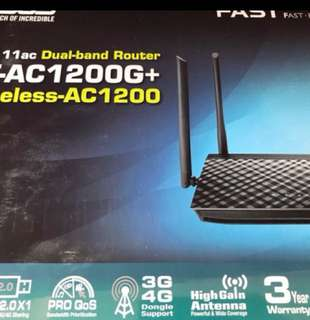 Asus RT-AC-1200G+ Router