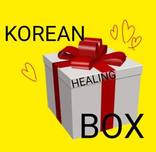 KOREAN HEALING BOX [AMAZINGABURGER]