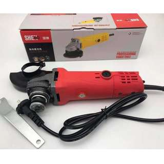 High power angle grinder