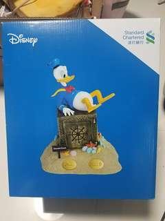 渣打 迪士尼 唐老鴨 錢箱
