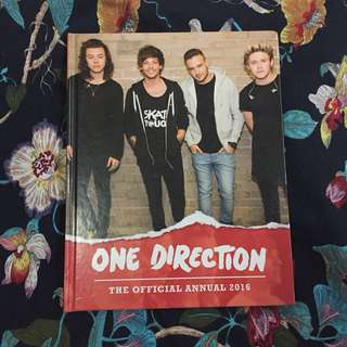 ONE DIRECTION OFFICIAL ANNUAL 2016