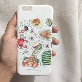 Case iPhone 6/6s Makanan Indonesia