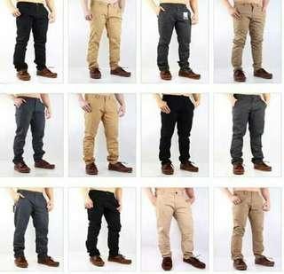 Celana panjang Chino DC