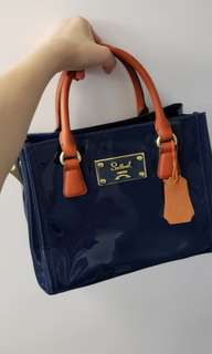 Brand new authentic leather handbag