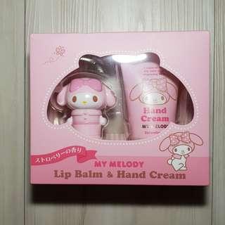 My Melody Lip Balm & Hand Cream Set