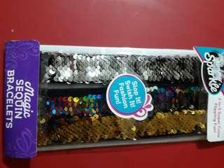 Magic Sequin Bracelets