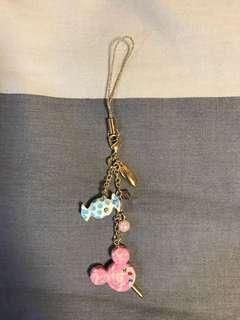 🚚 米老鼠耳機吊飾 日本購入