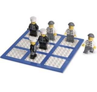 Lego City Police Tic Tac Toe BNIB