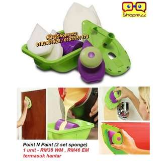 Point n Paint (2 set sponge)