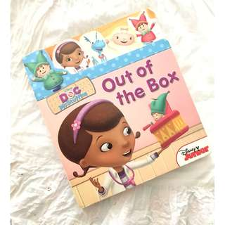 Disney Doc McStuffins Out of the Box Children's Book
