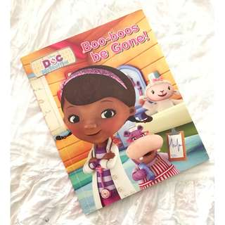 Doc McStuffins Boo-boos be Gone! Disney Children's Book