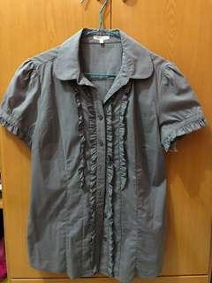Bossini Ladies / Baju garis garis / Bossini ORI / baju kerja/ baju ibu ibu / baju garis garis